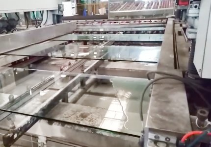 AUTOMATIC EDGING PRODUCTION LINE